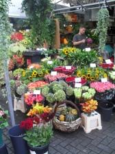 Flower market. Amsterdam, 2009