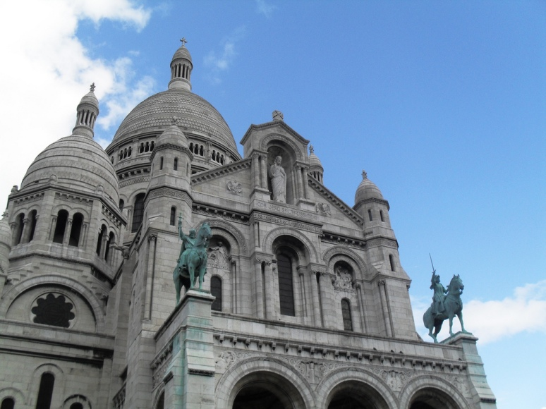 Sacre Coeur. Paris, France, 2009