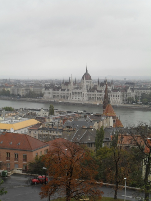 View from the Fisherman Bastion. Budapest, 2009
