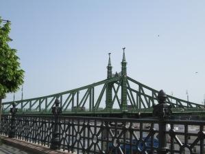 Liberty bridge: my favourite.