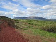 Area around the Kerið crater, Iceland, 2015