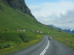 On the road in Iceland, 2015