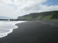 The black beach of Vik, Iceland, 2015